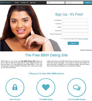 BBWAdmire Home Page