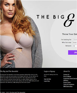 The big and the beautiful home Page